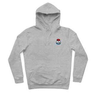Eye drops - Deep Heather Gray - Hooded T-shirt