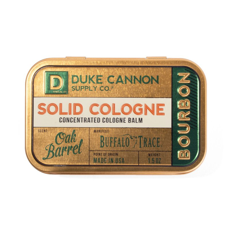 Duke Cannon Organic Solid Cologne - Bourbon