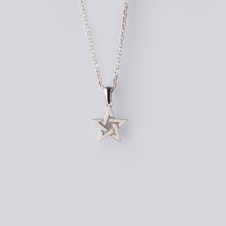 [Cheng Tours] Hao Yu - Star Pendant - 925 Sterling Silver Necklace