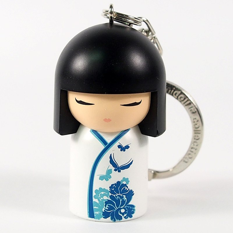 Key ring - Naoko sincere child [Kimmidoll and blessing doll key ring]