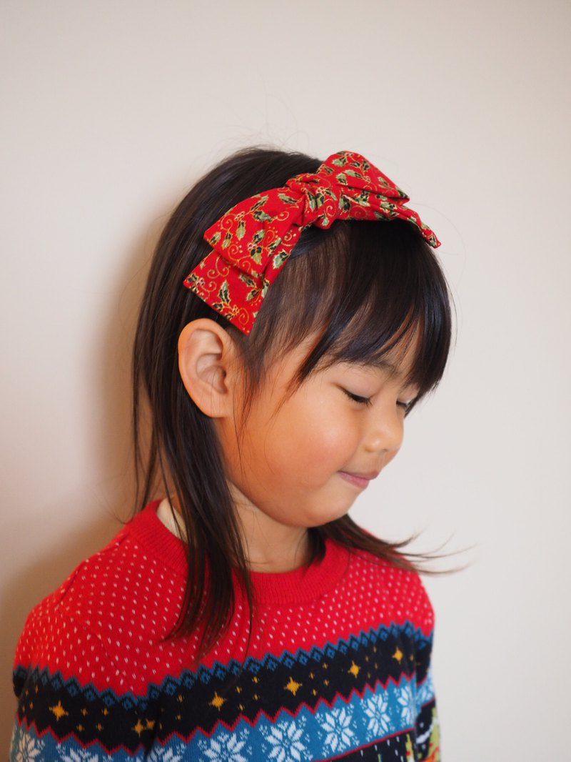 Christmas Limited Edition Handmade Elastic Headband Customized for Adult and kid