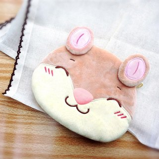 Helpless bear - big potato coin purse
