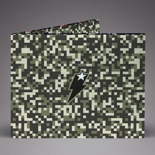 Supervek Anti-Army Camouflage Handmade Paper Wallet / Wallet / Short Clip Tyvek Waterproof Material Waterproof Tearproof