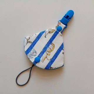 Lion peekaboo two in one pacifier clip pacifier dust bag + pacifier clip dual function 1 into