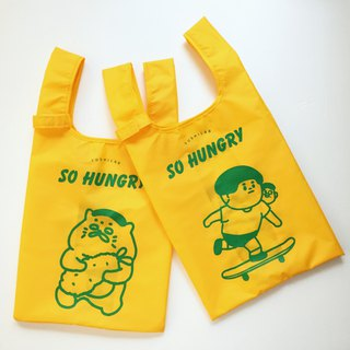 Outer food lunch storage bag----double-sided printing (Jing Tai Wu Lang Duzi is in)