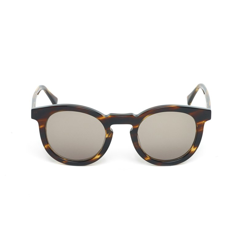 OBX Tortoiseshell Acetate Sunglasses, Brown Olive