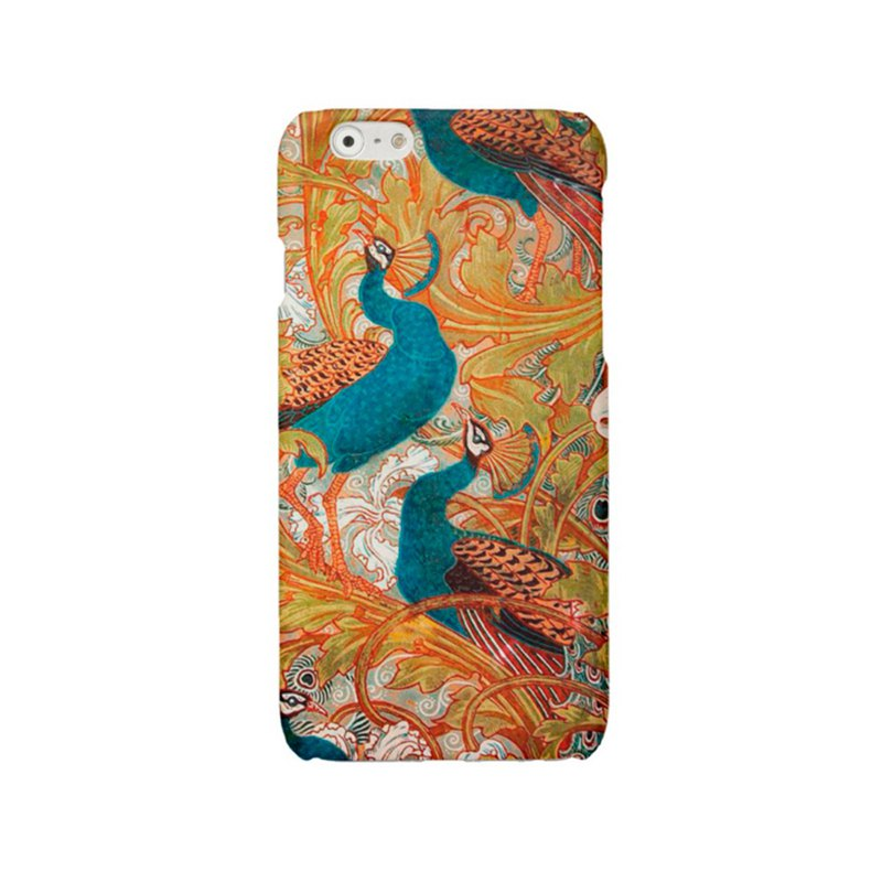iPhone case Samsung Galaxy case Phone hard case peacock 2104