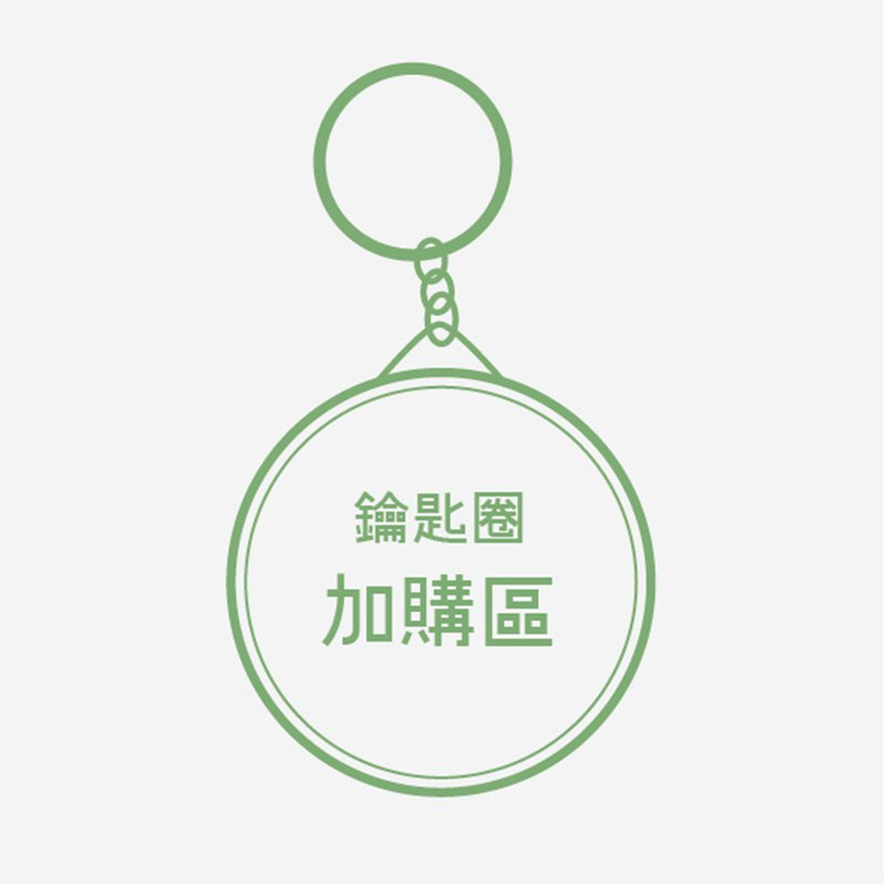Purchase area of key ring (please ask first)
