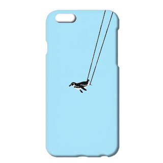 iPhone case / penguin and aerial swing B