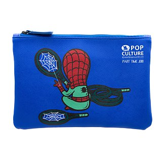 Flying Mouse Zip Pouch Part Time Job-Sport Shop