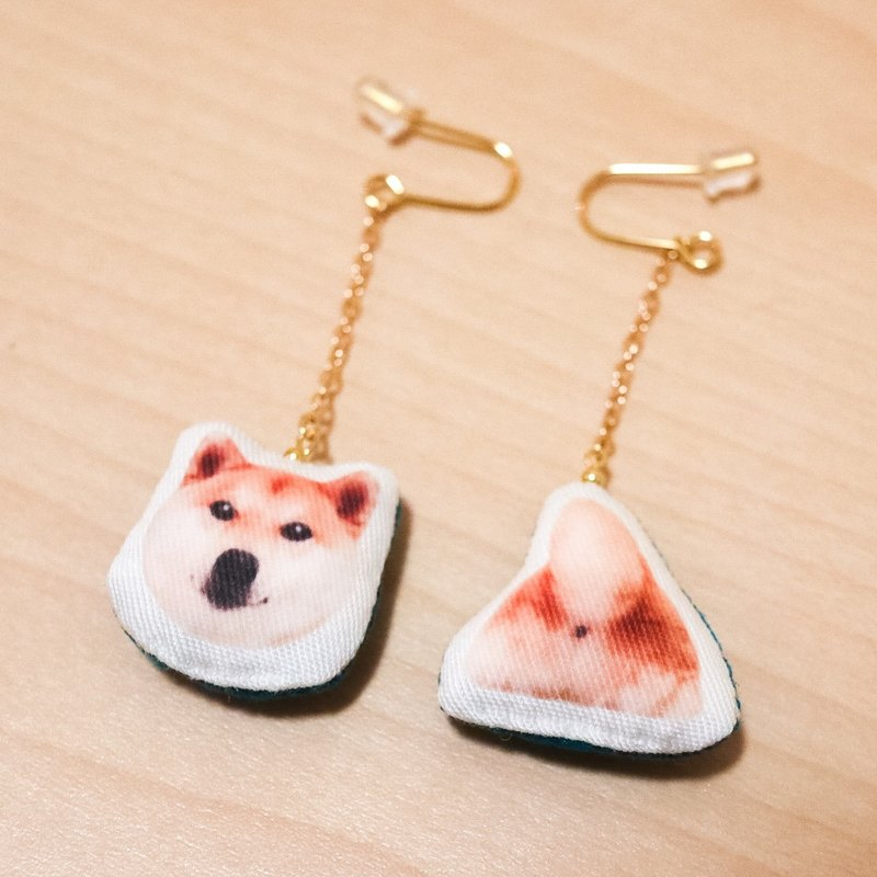 Shiba(Daifuku)cute earrings