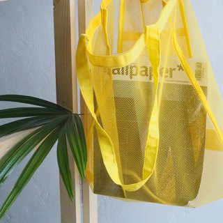 YELLOW CLEAR BAG