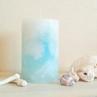 Blue Candle: vol.4 ~ pillar candles M ~