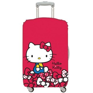 LOQI Luggage Jacket - Hello Kitty Red M