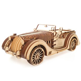 /Ugears/ Ukrainian wooden model jazz tycoon Roadster VM-01