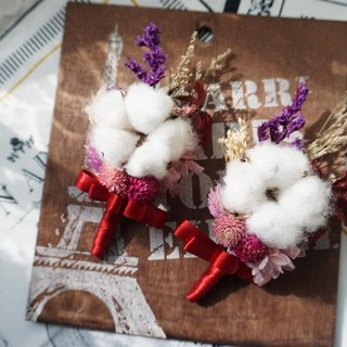 Happiness Hanayome - cotton dried corsage*exchange gifts*Valentine's Day*wedding*birthday gift