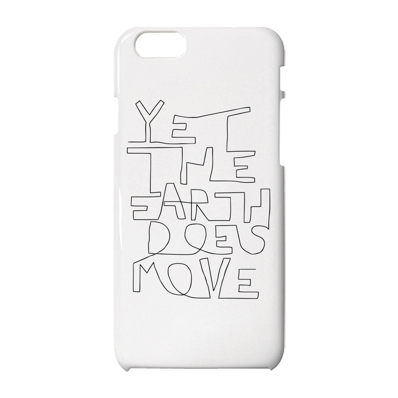 Yet the earth does move iPhone保護殼