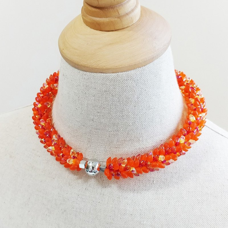 Another 365 Days Of Fun Collar Necklace / Statement Necklace for Party or Annive