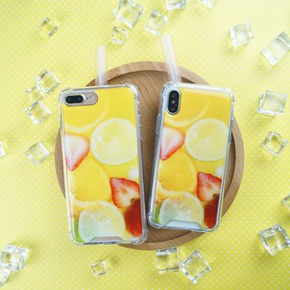 [Mountain fruit tea] anti-gravity anti-fall mobile phone shell