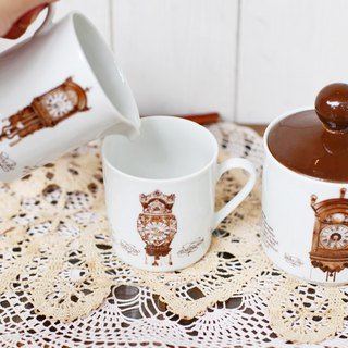 [Good day fetish] Dutch vintage ceramic milk jug / sugar bowl (set)