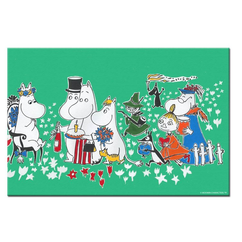 Moomin Lulu meters authorized - frameless painting (60*60cm / 50*70cm)