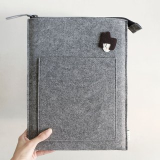 "Miss Hairy Collection / iPad Case / Suitable for 12.9"" iPad"