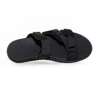[Dogyball] Simple wear and easy life simple Roman sandals and slippers classic black