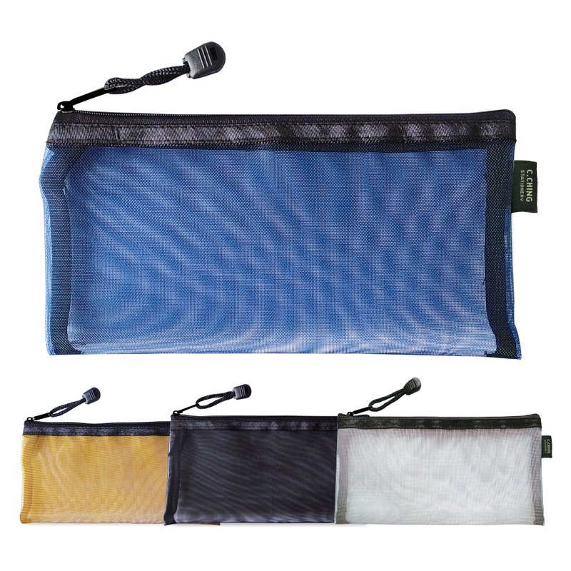 Ching Ching X CHOICE Series CBG-337 B6 Metallic Nylon Zipper Bag