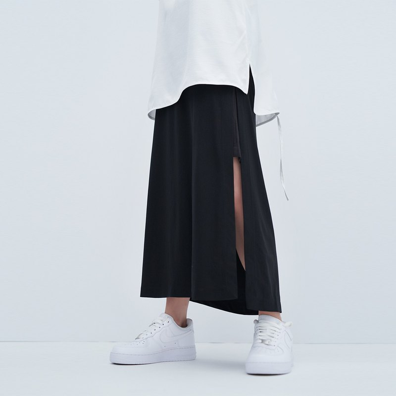 TRAN - Knitted Double Skirt