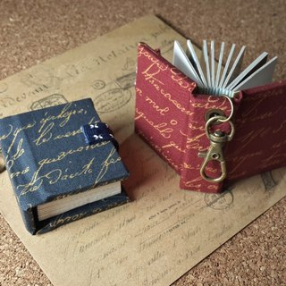 [Country pen ink] (2 colors) mini phase key ring 5cmX4.3cm - custom small things