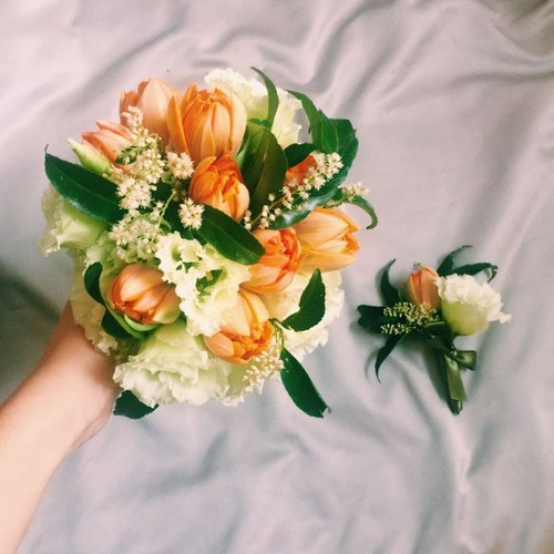 Fresh and beautiful style wedding flowers bouquets & flowers | wedding bouquet & corsage