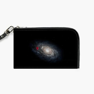 Snupped Isotope - Phone Pouch - We Are Here! Galactic Location (Geek Humor)