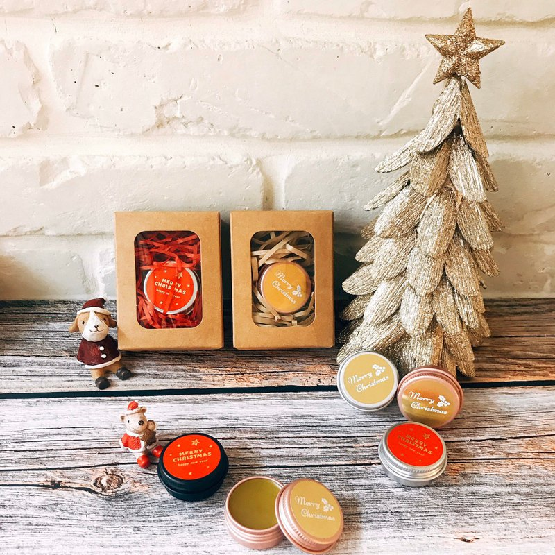 Limited to Christmas period / Essential oil lip balm two groups / with Christmas packaging