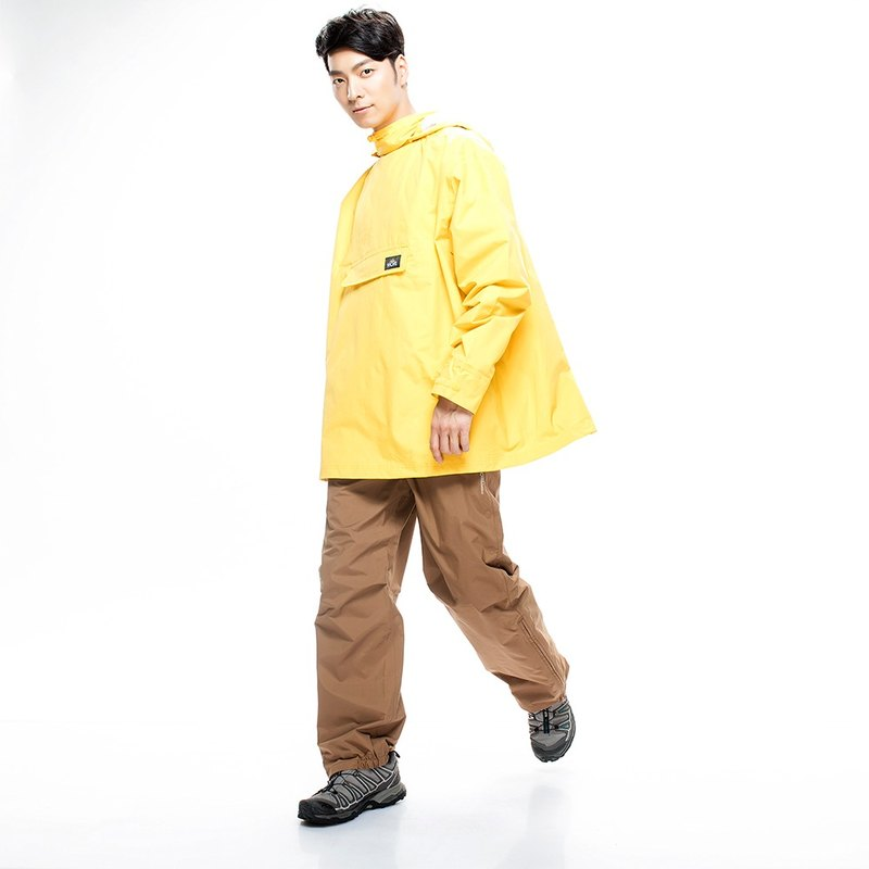[MORR] Postshorti Magnetic Reversible Waterproof Jacket - Classic Yellow
