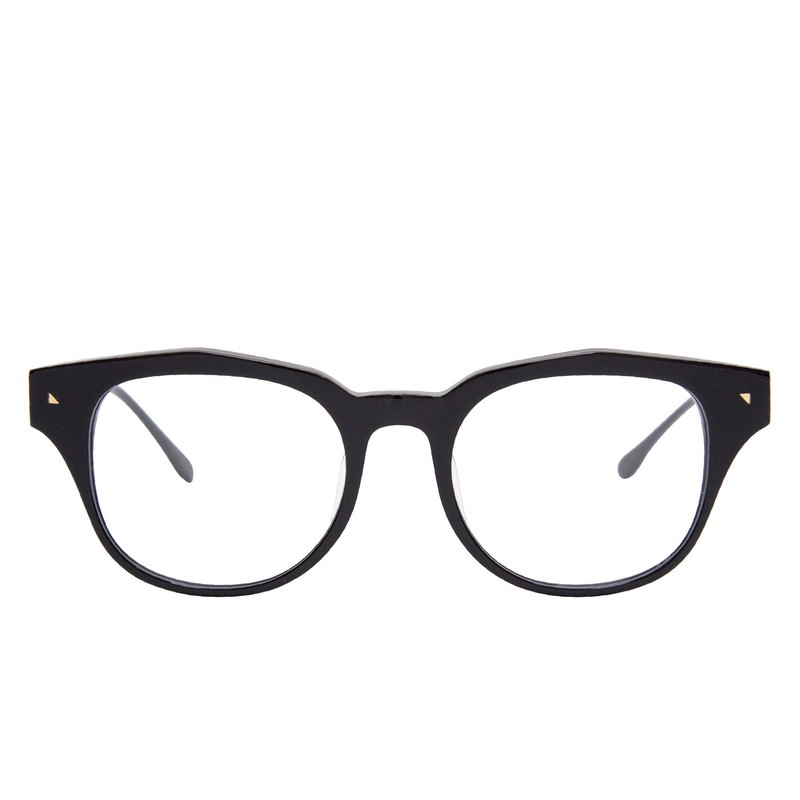 AMERICANO BLACK Jazz Black Italian Plate Optical Glasses Frame Glasses