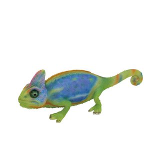 SUSS-Japan Magnets immersive animal series cute chameleon modeling money bank (color)-spot