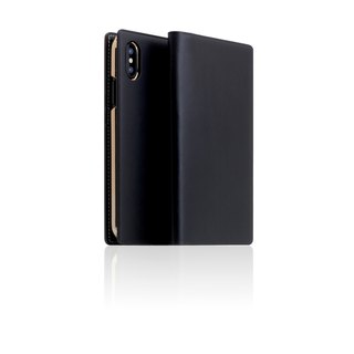 SLG Design iPhone Xs / X D7 IBL exquisite collection of top leather holster - black