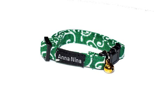 [AnnaNina] Pet Cat Dog Collar Don Grass Green Collar XS~M