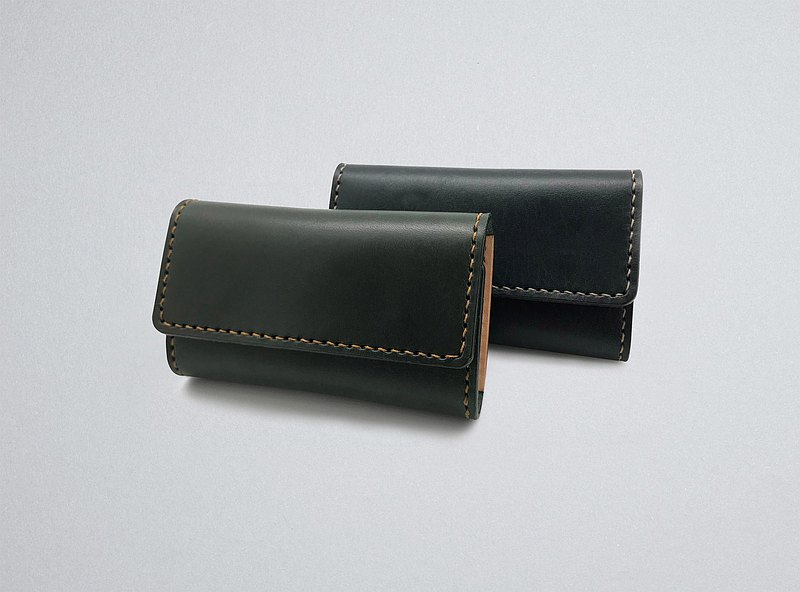 Leather Card Holder (13 colors / engraving service)