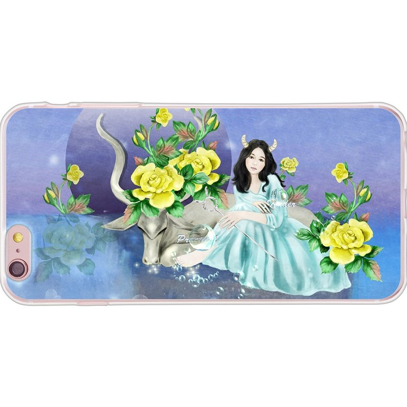"New Year Series - florid constellation Taurus [] - Yi Dai Xuan -TPU phone case ""iPhone / ASUS / Samsung / HTC / LG / Sony / millet / OPPO"""