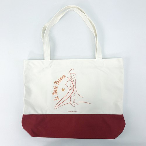 Little Prince classic license - spell color shopping bag (red), CB17AA02