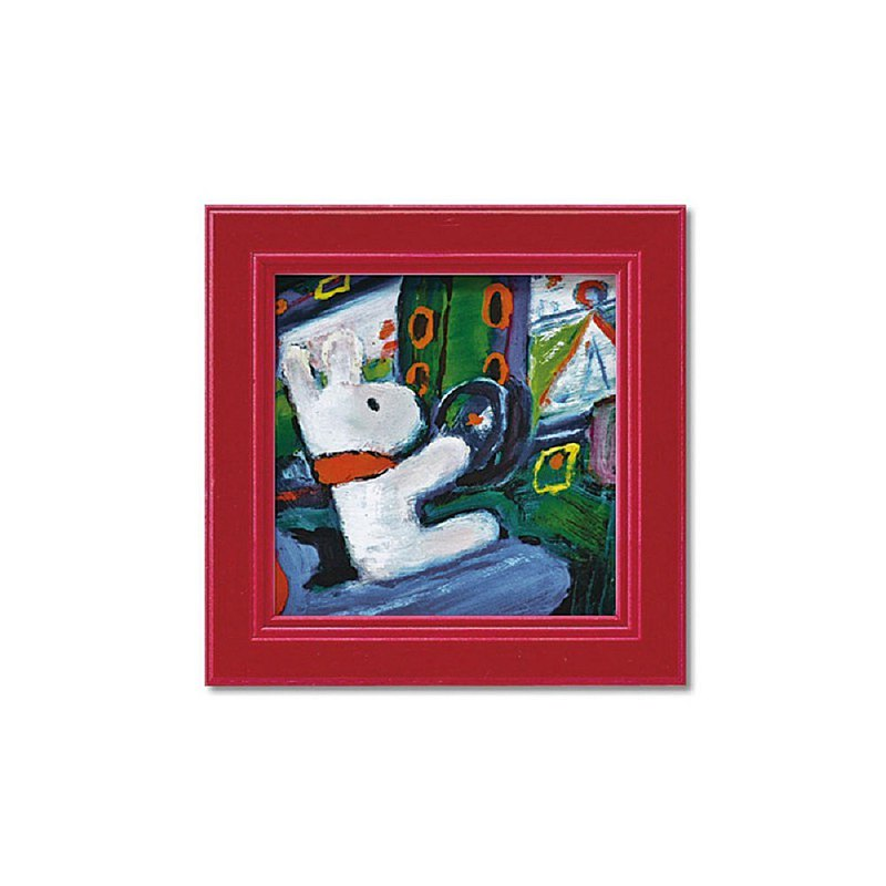 Lisa and Casper-Miniature Framed Copy Painting-Game Center