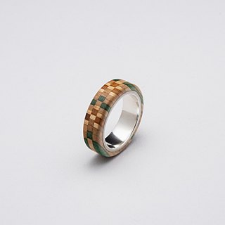 Send wood style ring R0406018