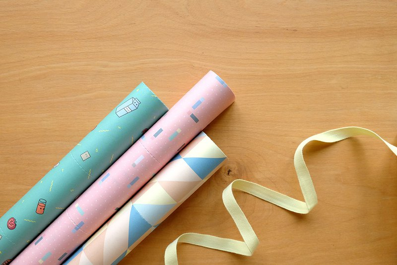 Reusable Wrapping papers (Collection 2) : Set of 3