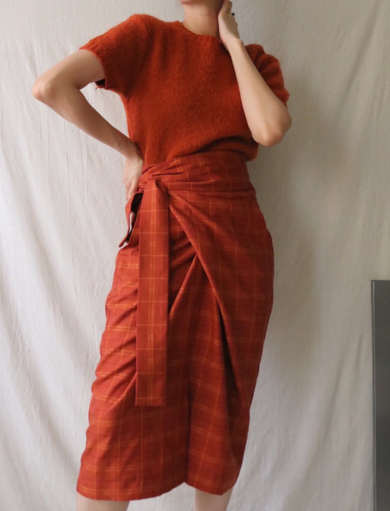 ULLA SKIRT *BURNT ORANGE *LIMITED EDITION