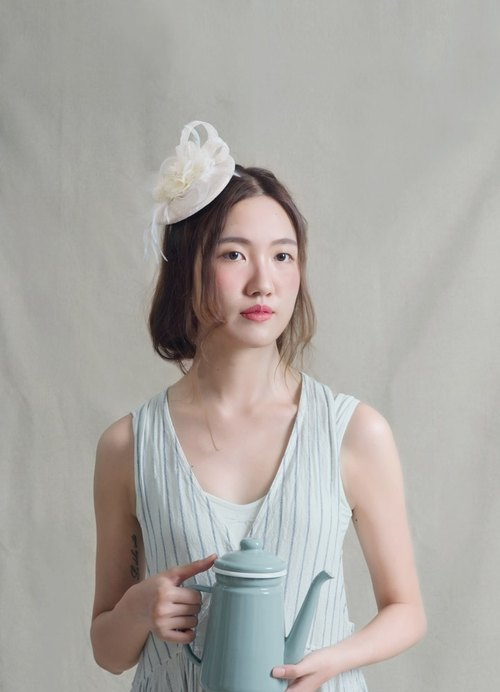 Pug.B.go hand-made English hat bridal hat / sen female / hand flower / lace / art / retro / headdress / hair ornaments