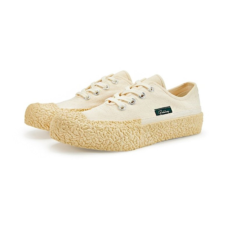 BAKE-SOLE Crust Ecru / Canvas Shoes_Butter