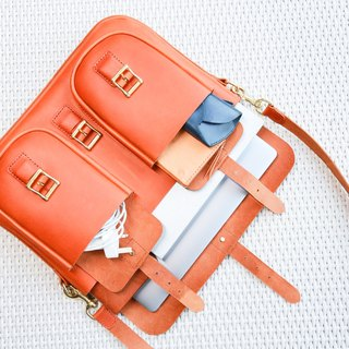 Vintage cross-body bag, computer bag