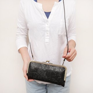 Black sheep Aries Shoulder bag gold shoulder bag / long clip / cell phone bag [Made in Taiwan]