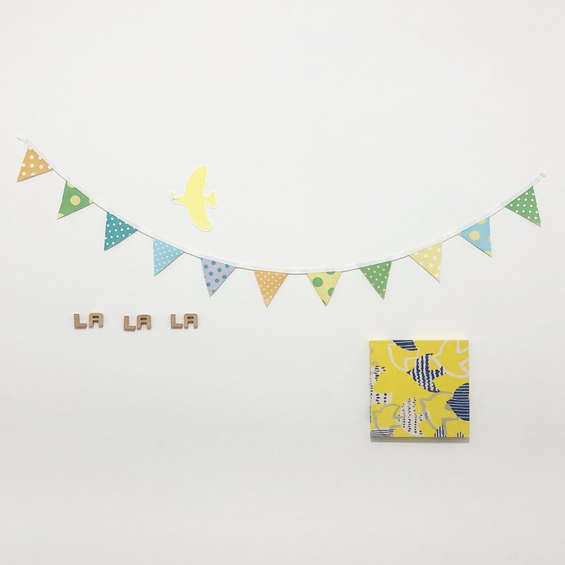 Playful party, little pennant